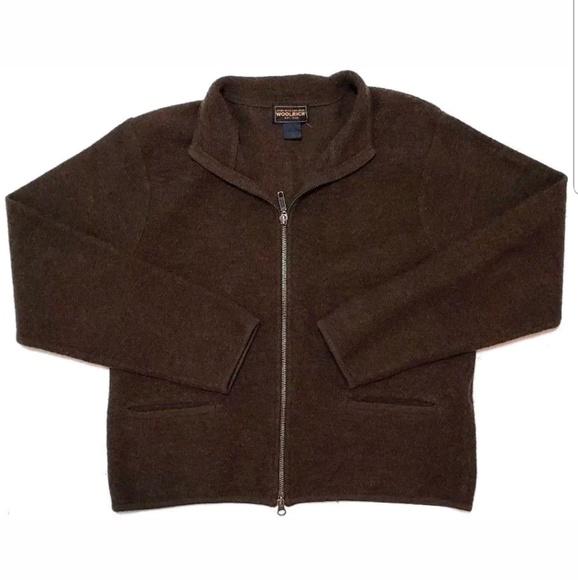 Woolrich Jackets & Blazers - Woolrich Womens Sweater Jacket 100% Wool Full Zip